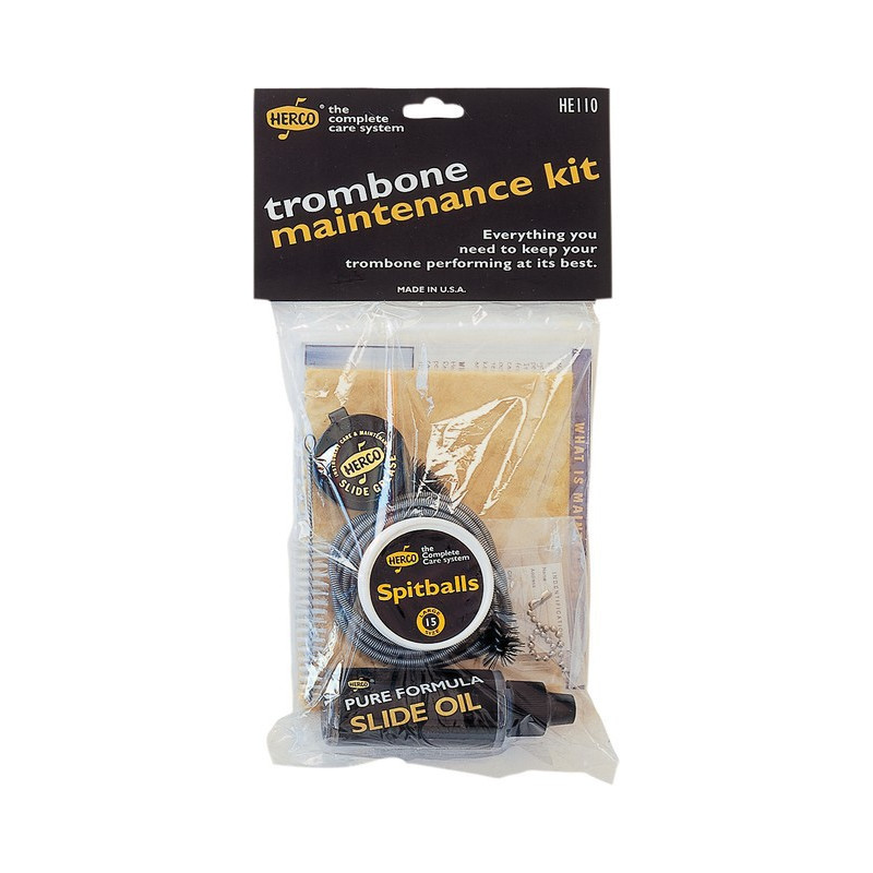 HERCO HE110 Kit de mantenimiento para trombón