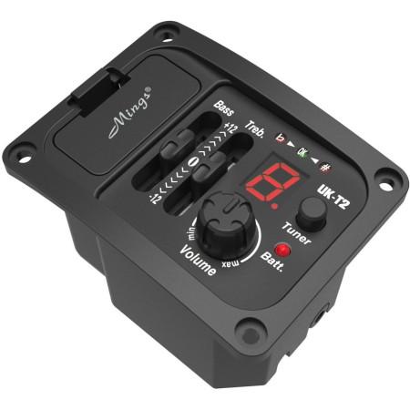 MINGS UK-T2 Micrófono activo para ukelele