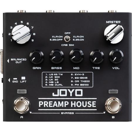 JOYO R-15 HOUSE PRE-AMP Pedal para guitarra