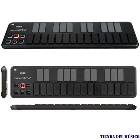 KORG NANOKEY 2 Teclado controlador midi USB ultra delgado