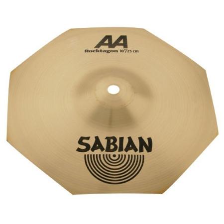 "SABIAN AA ROCKTAGON SPLASH 10"" Platillo innovador para bateria"