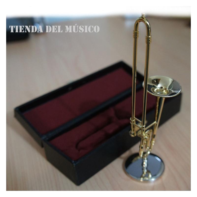 TARTARUGA TBM Miniatura de trombon con estuche