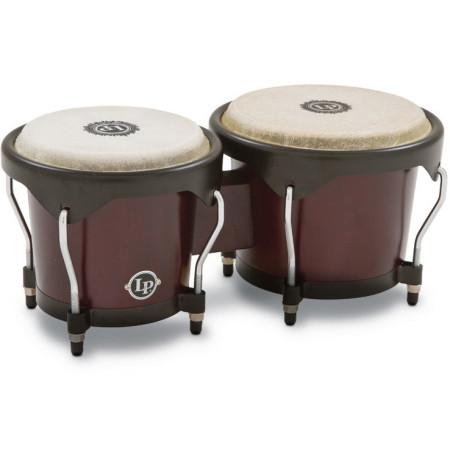 LP LP601NY Set de Bongo en madera de roble con aros negro