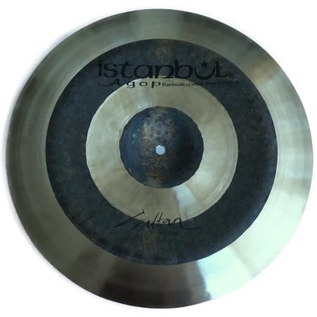 ISTANBUL SULTAN CHINA Platillo profesional martillado a mano en bronce b20 para bateria