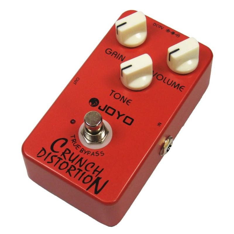 JOYO JF03 CRUNCH DISTORTION Pedal de efecto para guitarra eléctrica