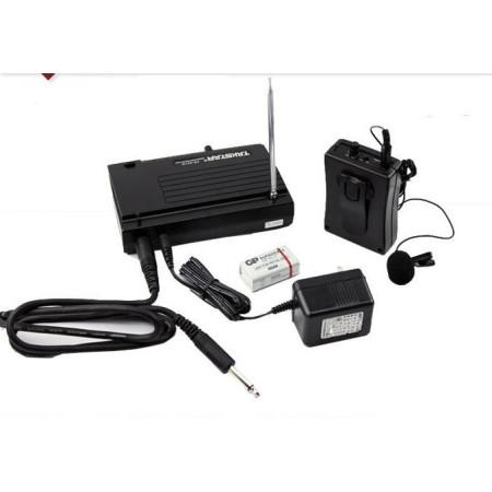 TAKSTAR TS331B Microfono de solapa inalámbrico con transmisor Vhf