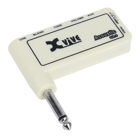 XVIVE GA-1 Mini amplificador de Audifonos para guitarra electrica