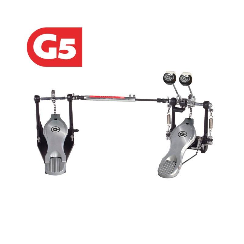 GIBRALTAR 5711DB Pedal doble para bombo bateria